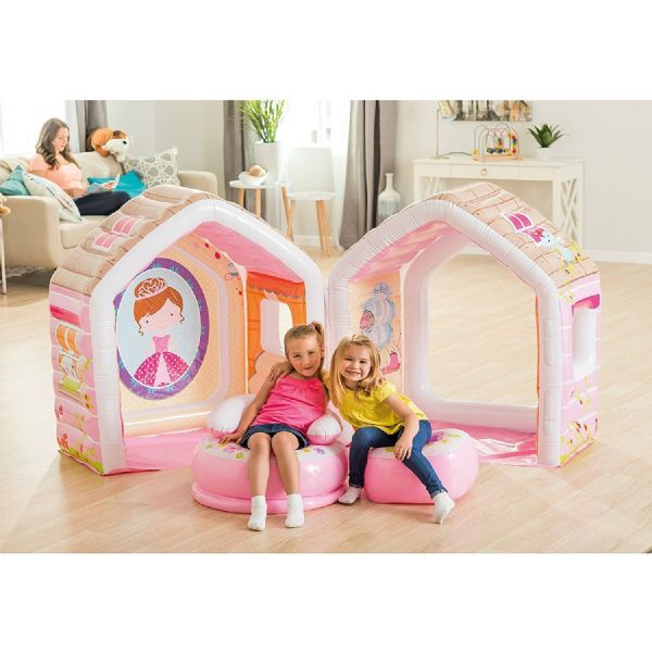 Intex Princess Inflatable Play House Children's Playhouse Wendy House